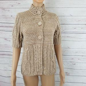 Dressbarn Button Down Cardigan Knit